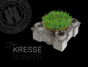 Kressetopf aus Beton / DER KRESSEBUNKER