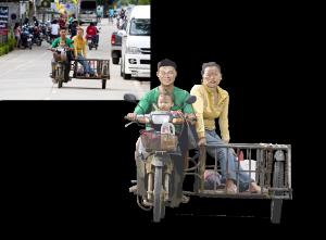 """EBV / Elektronische Bildbearbeitung """"THAILAND"""""""