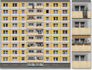 "EBV / Elektronische Bildbearbeitung - Composing ""Berliner Platte"""
