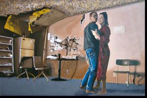 """3D-Kunst HAPTOGRAFIE """"AFI II"""" (2005)"""