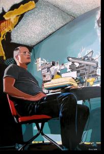 """3D-Kunst HAPTOGRAFIE """"AFI I"""" (2004)"""