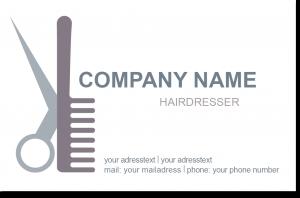 Logoentwicklung Friseur
