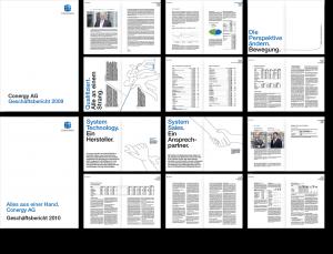 Reinzeichnung Geschäftsbericht
