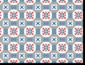 Gestaltung / Vektorisierung Fliesenaufkleber AZULEJOS III