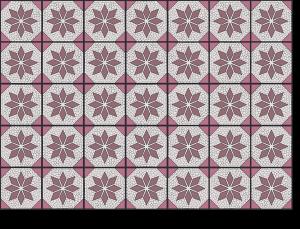 Gestaltung / Vektorisierung Fliesenaufkleber AZULEJOS IV