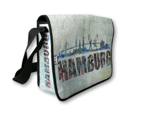 Gestaltung Bedruckte Tasche HAMBURGER SKYLINE